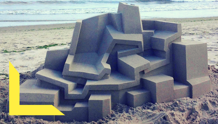 sand design by architect