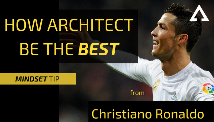 cr7 how architect learn from mindset