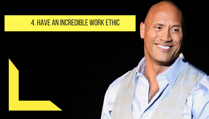 Have incredible work ethic