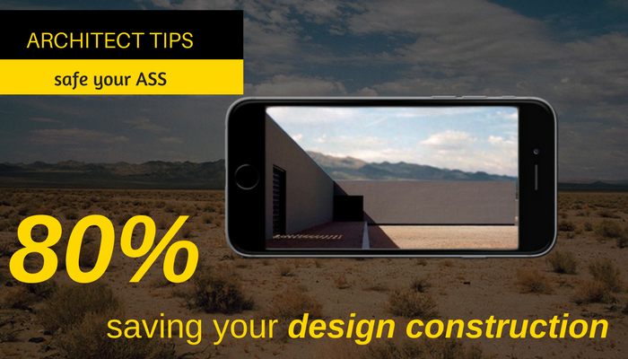 80% saving your design construction cost.
