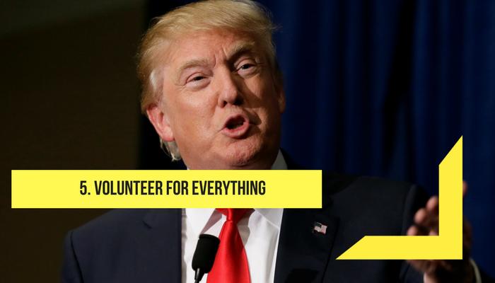 volunteer everything