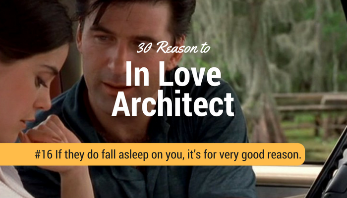 If they do Architect fall asleep on you, it's for very good reason.