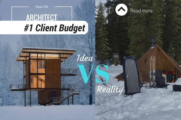 architect reality client budget