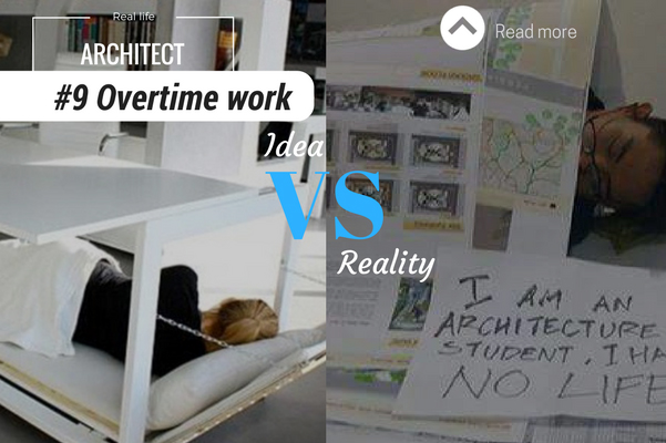 Architect reality overtime work