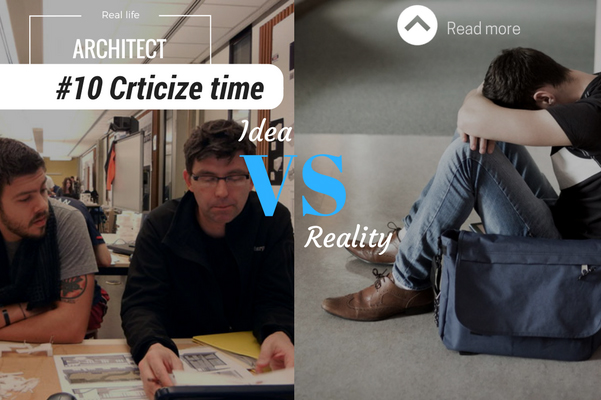 Architect reality criticize time
