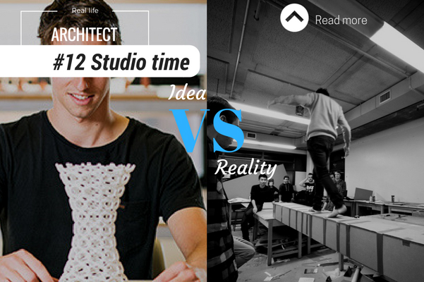 Architect reality studio time