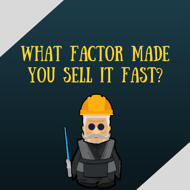 What factor make it sell faster
