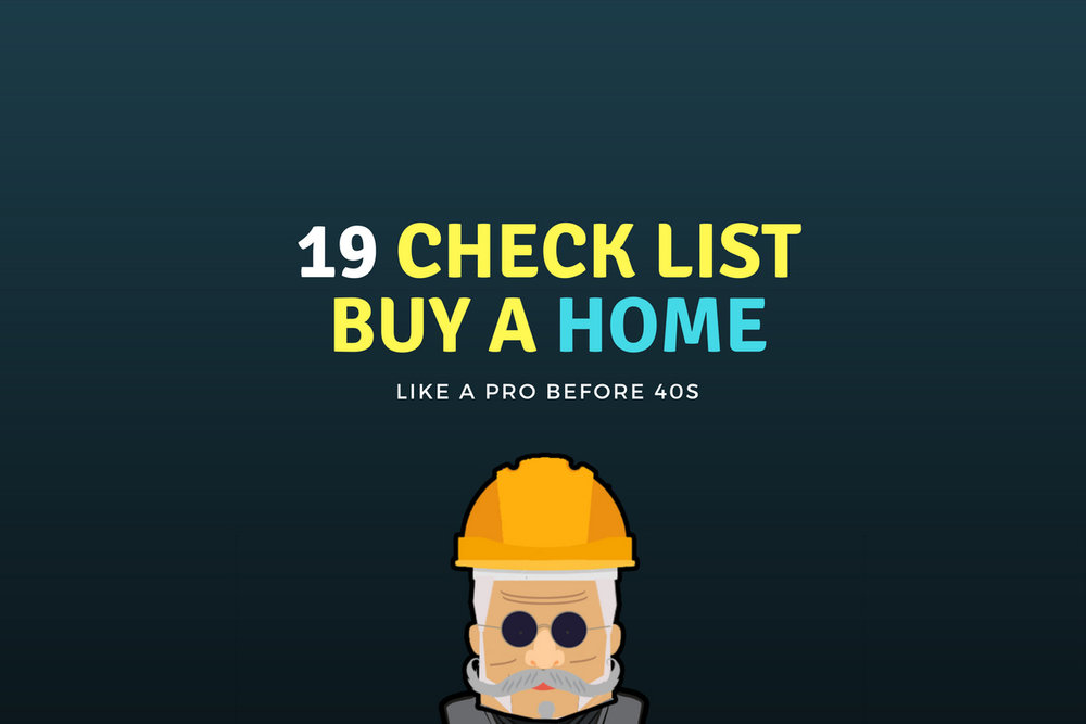 19 checklist buy a home