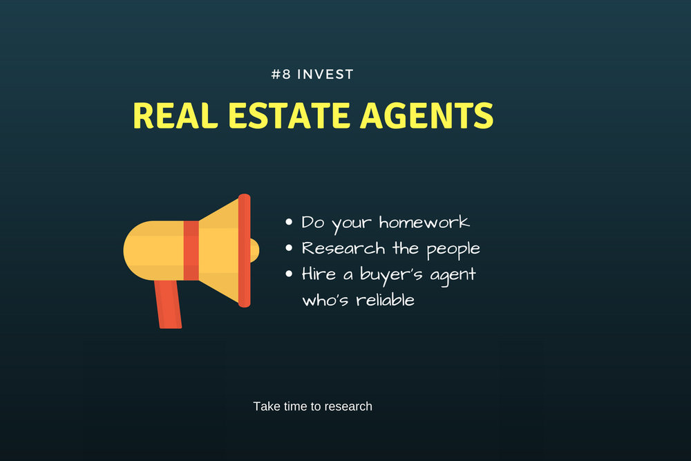 invest realestate agent
