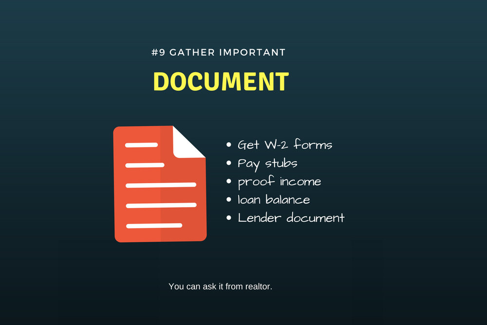 Gather important document