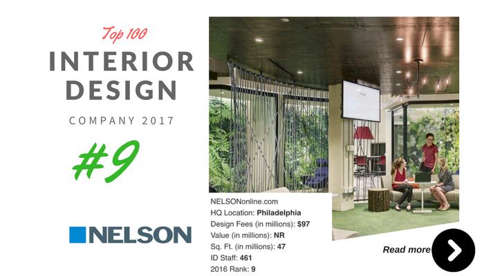 top 100 interior design company nelson
