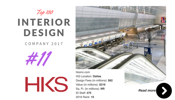 Top 100 Interior Design Company HKS