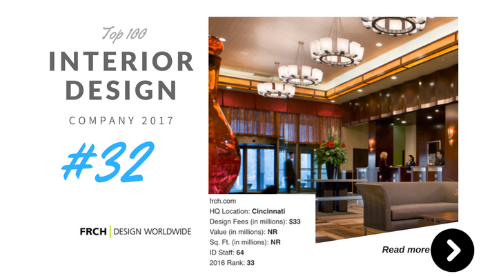 top 100 interior design company frch