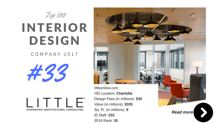 top 100 interior design company little