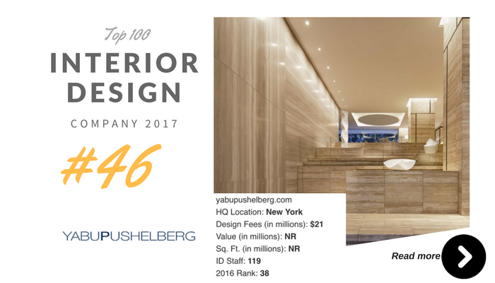 top 100 interior design company Yabu