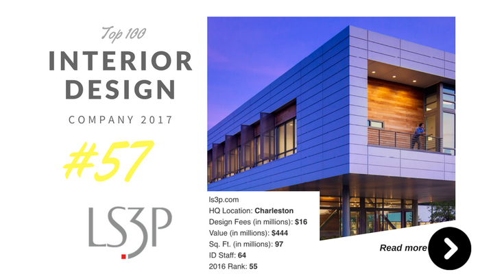 top 100 interior design company Ls3P