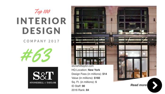top 100 interior design company s&t