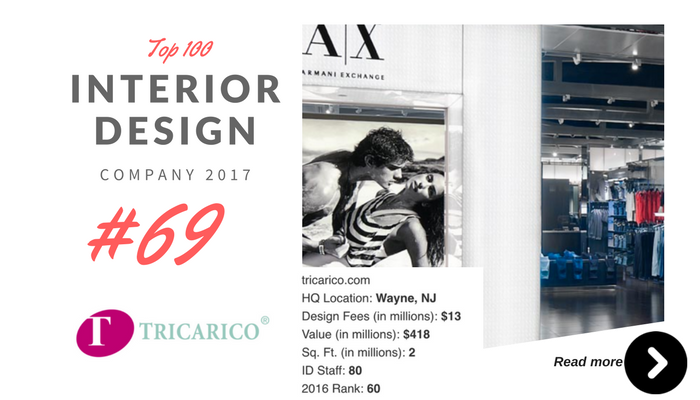 top 100 interior design company tricarico