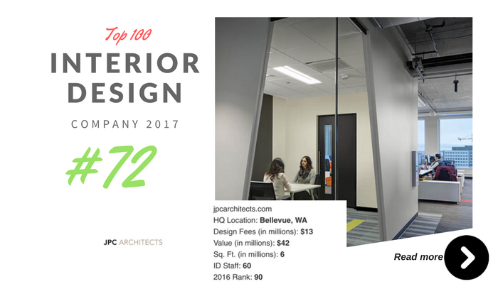 top 100 interior design company JPC archiect