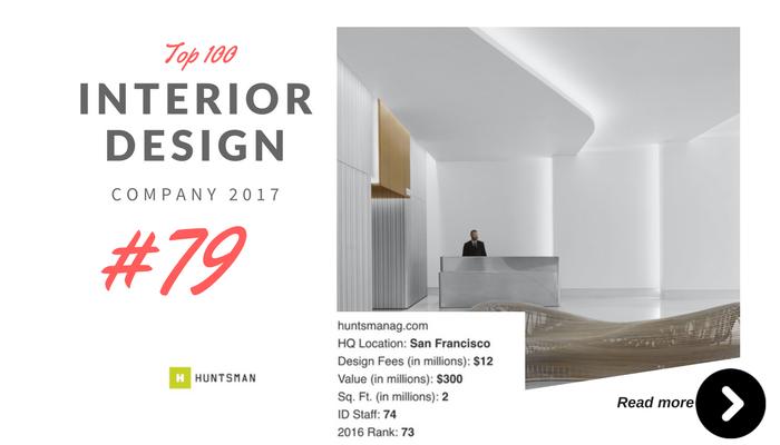 top 100 interior design company Huntsman
