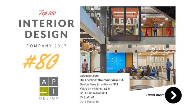 top 100 interior design company API