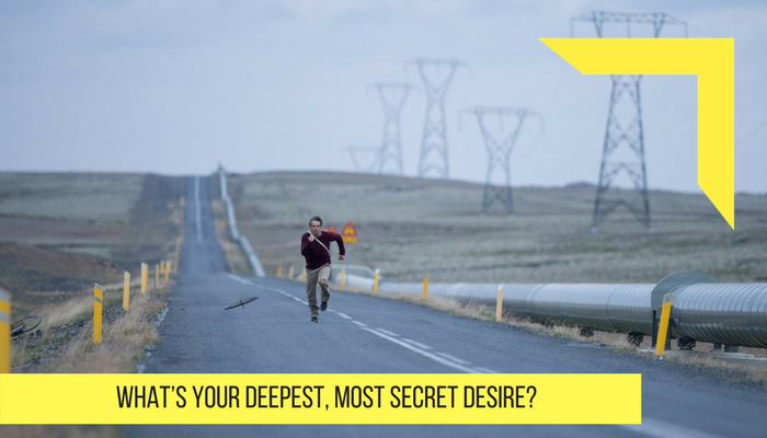 what your depress most secret desire