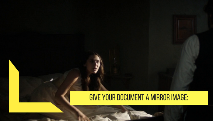 give your document mirror