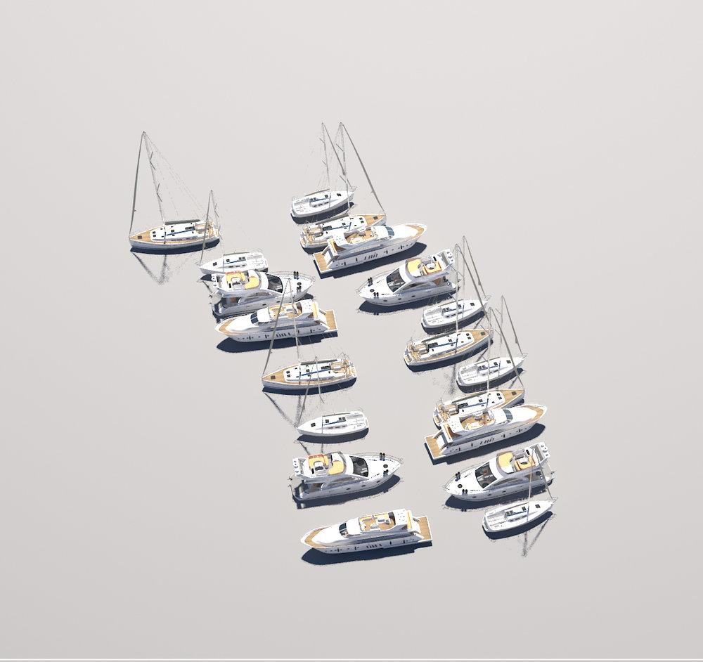 Multi ship&yacht