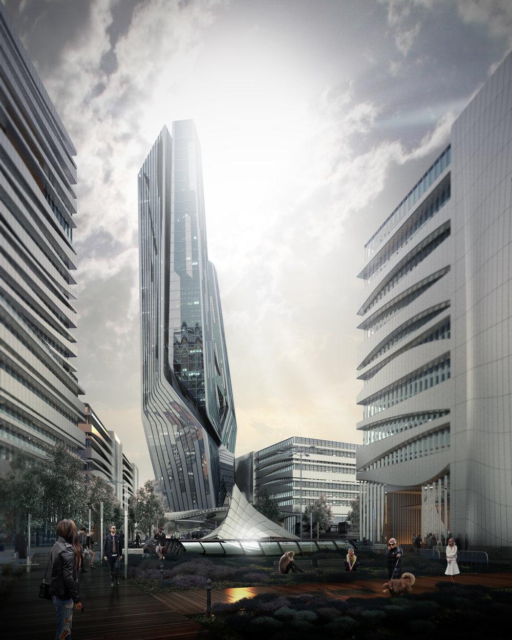 Complex building - start 900 USD++