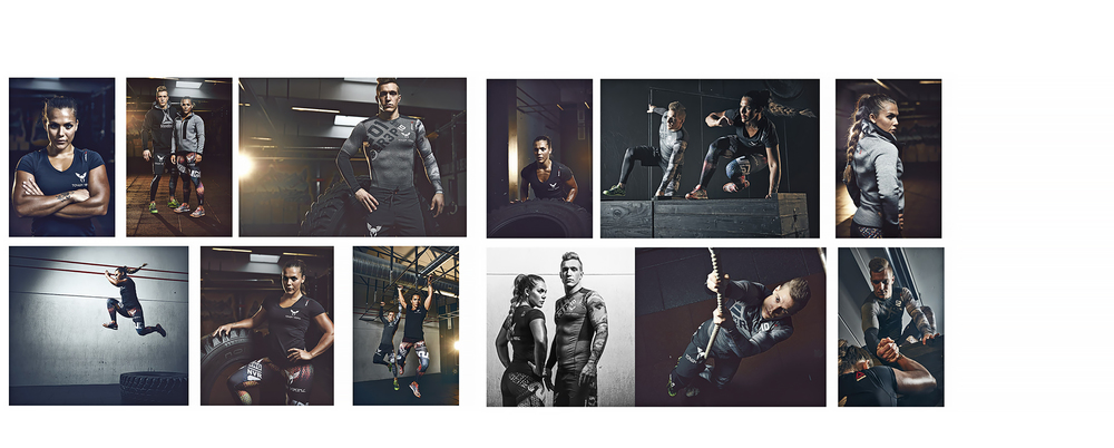 Shoot for Intersport and Reebok
