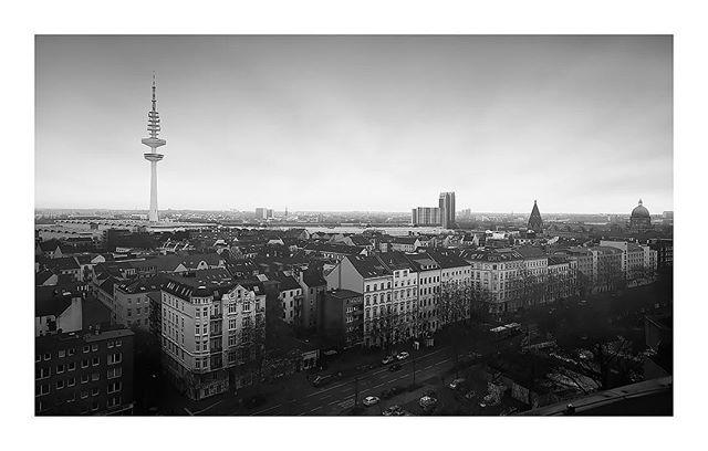 Archive #cityscape of #hamburg #stpauli #fineart
