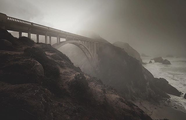 Old favourite from 2008 #bixbybridge #california #landscape #visualsofearth #earthfocus