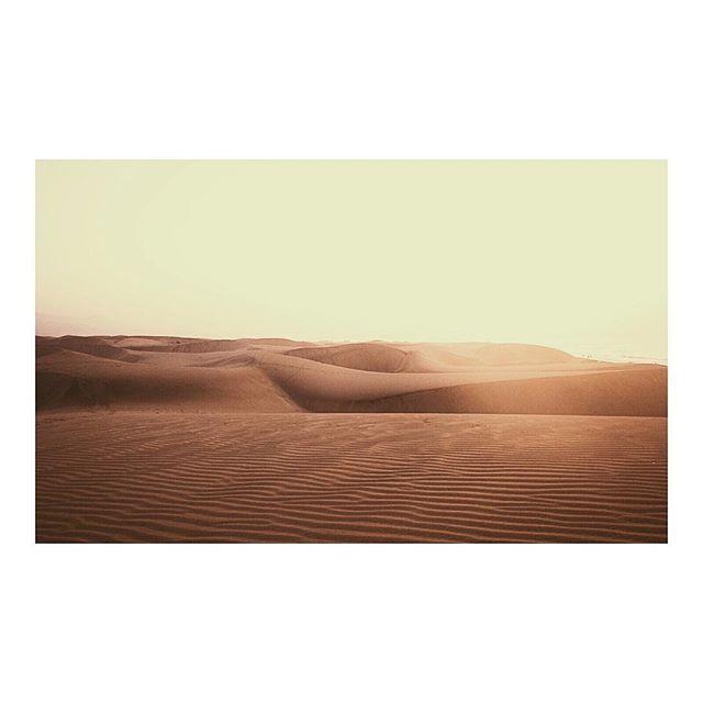 Monday morning desert mood #landscape #maspalomas