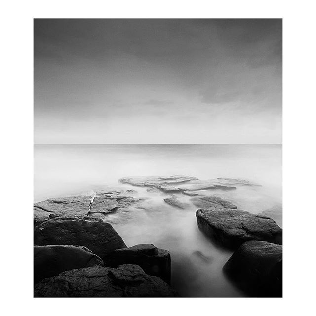"Work from my #fineart series ""coastbricks"" 2015 #landscape #ocean #blackandwhitephotography"