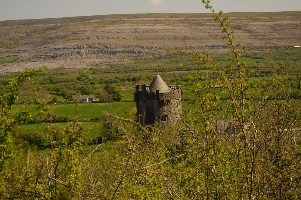 from above Newton Tower, Burren Art College