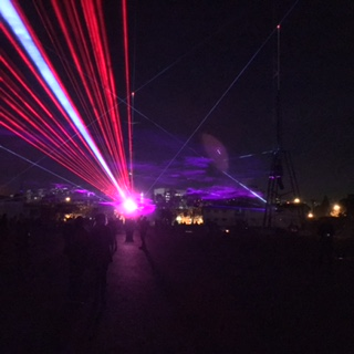 Dark Mofo Hobart 2017 light show