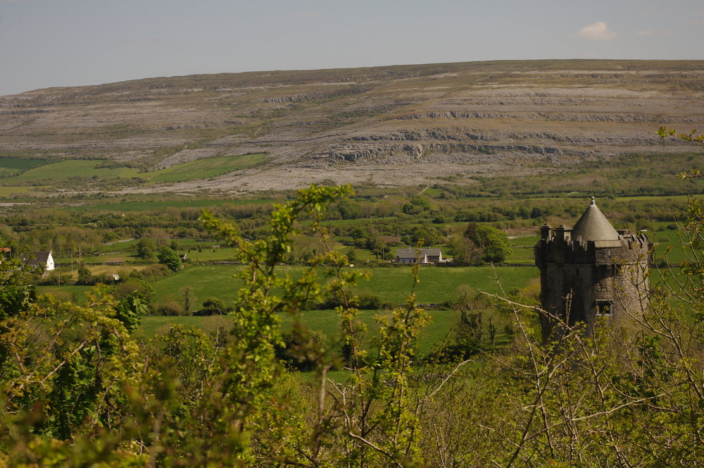 The Burren, from above Newton Castle