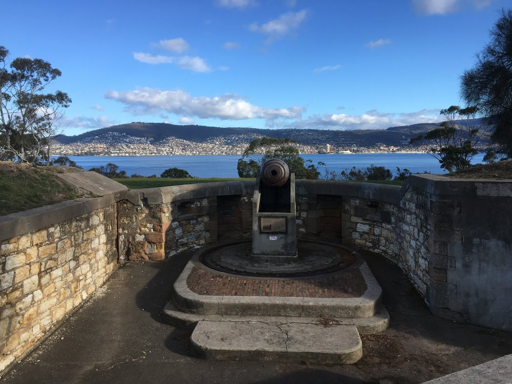 Bellerive Battery, Hobart.