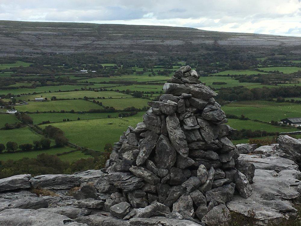 Looking east, Burren.