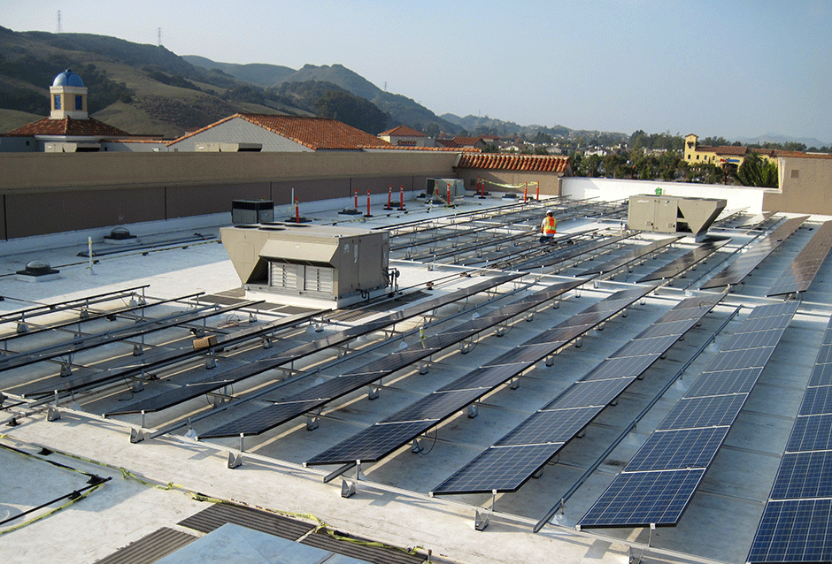 Whole Foods (formerly New Frontiers) San Luis Obispo | CALIFORNIA 99 kW PROJECT DETAILS Completed in 2010, REC Solar designed and installed a 99 kW system on the roof of Whole Foods in San Luis Obispo, CA. The system features 240 REC Group panels and 12 Sunny Boy inverters. Additionally, the store has an educational kiosk that displays data such as sun tracking, kilowatt-hours saved and information about how much Whole Foods is saving on their electricity bill. Special design considerations were taken to ensure that the system could be installed to offset the maximum kWh possible.