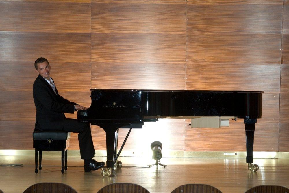 Pianomusik auf Ihrer privaten Feier