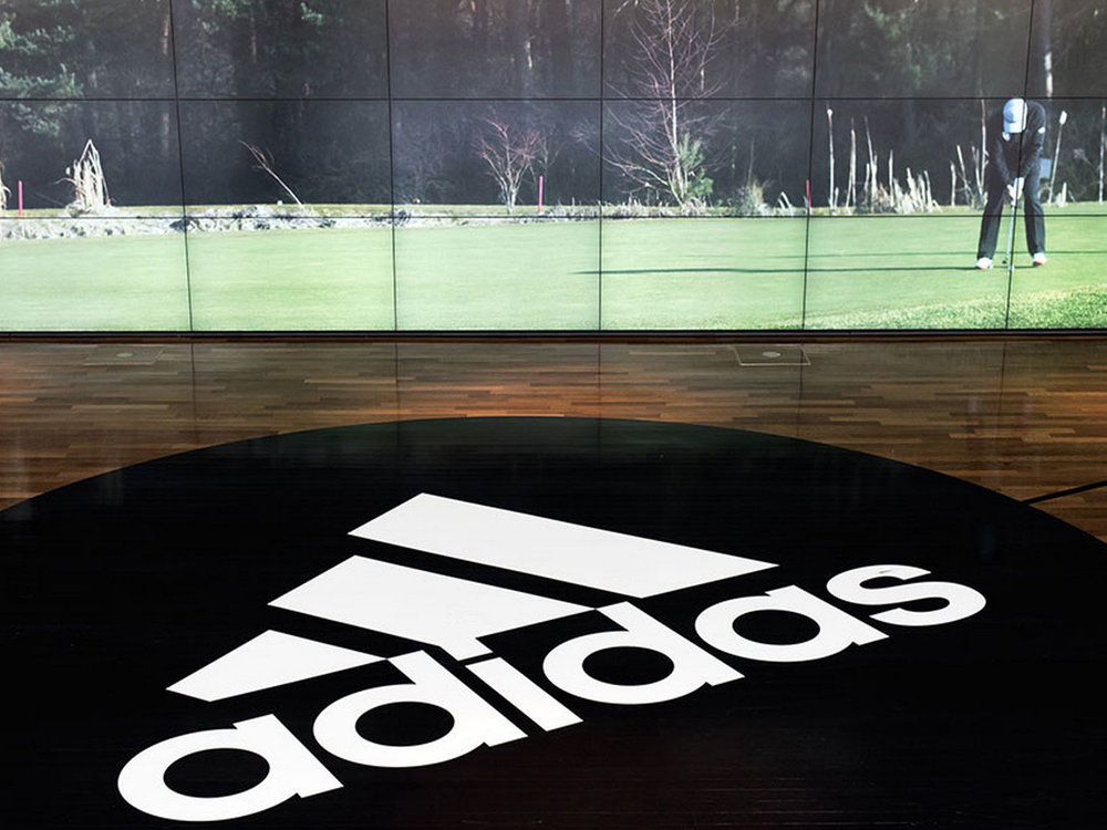 adidas group Creative direction for complete redesign of the foyer of the global headquarters in Germany.