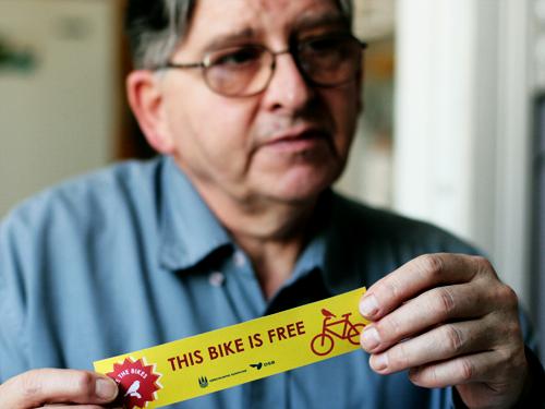 FREE the bikes Service design concept