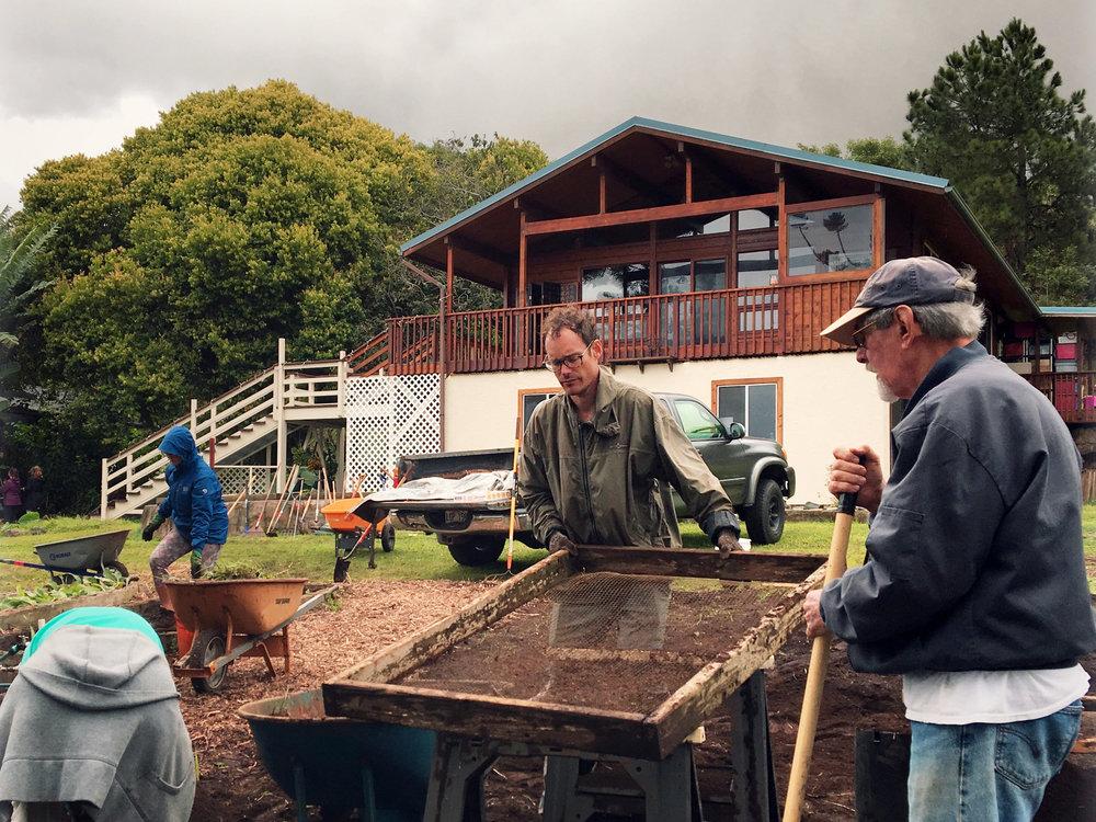 laulima farm keokeA A farmers initiative on Maui, Hawaii, working towards a regenerative initiative