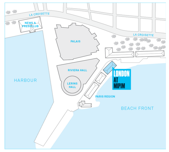 Find the London Stand at MIPIM