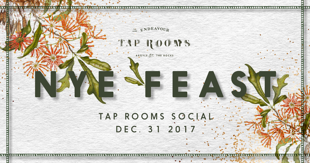 Endeavour Tap Rooms New Years Eve
