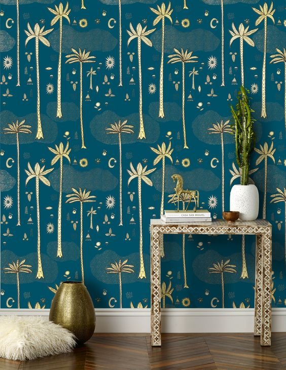 Justina Blakeney wallpaper for Hygge & West
