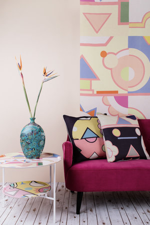 Fun, vibrant pieces from Lisa Todd's Ndebele Collection