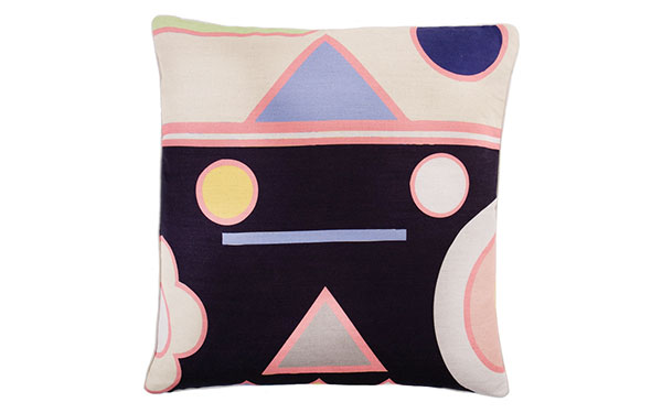 Pluto Extra Large Linen Cushion by Lisa Todd on katiecharleson.com