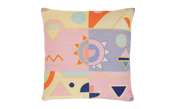 Pink Fizz Extra Large Cushion by Lisa Todd on katiecharleson.com